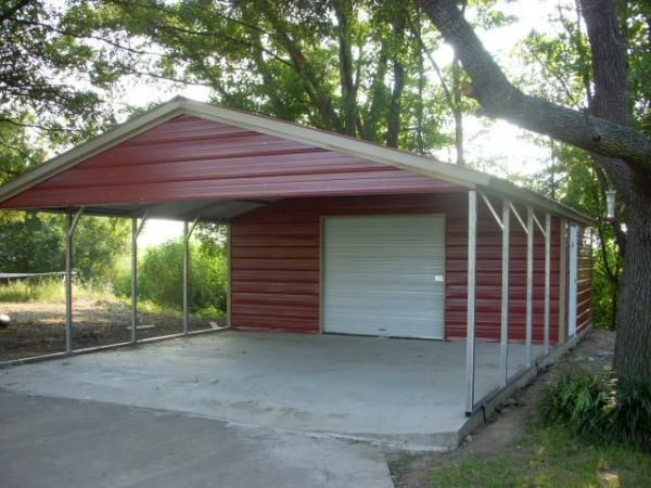 56 best carports images on pinterest eve a frame and barn for Carport shop combo