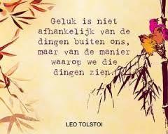#geluk    Leo Tolstoi #idolenkaarten