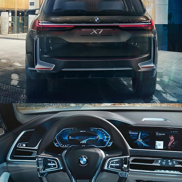 BMW X7 Concept  @bmw.uae