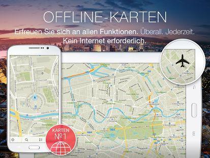 MAPS.ME Karte mit Routenplaner – Miniaturansicht des Screenshots