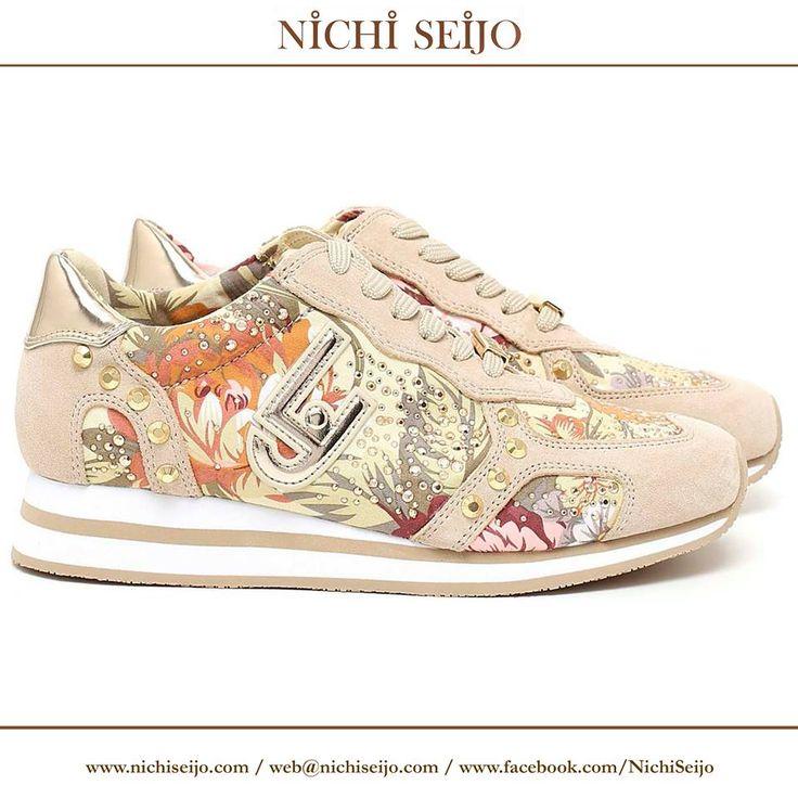 Sneakers de verano de la firma LIU-JO, disponibles en nuestras tiendas NICHI SEIJO y en nuestra tienda online www.nichiseijo.com  #sneakers #zapatos #shoes #nichiseijo #liujo