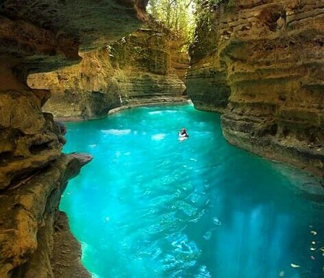 Canyoneering in Canlaob River Canyon, Cebu - Philippines