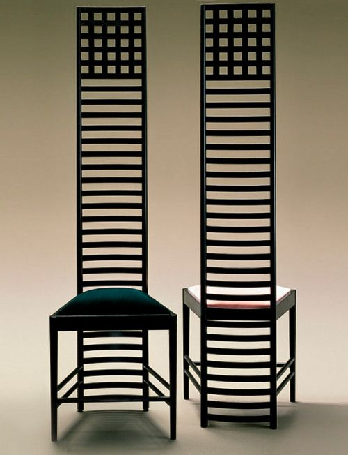 CHARLES RENNIE MACKINTOSH, The Hill House Chair, 1902. / Archi Expo