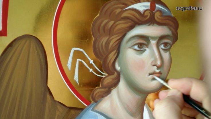 Cold encaustic in icon painting. Энкаустика в иконописании