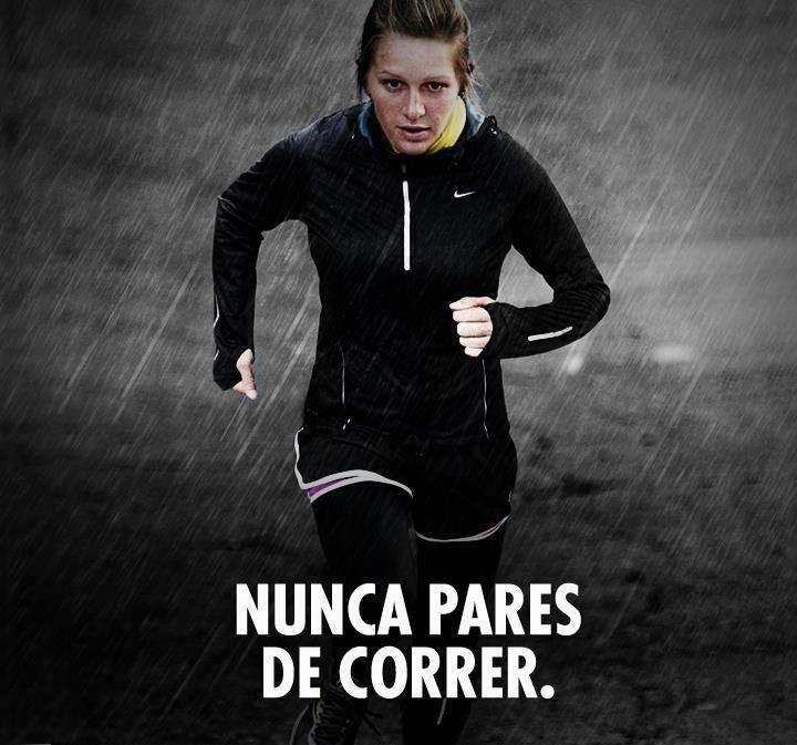 Nunca pares de correr