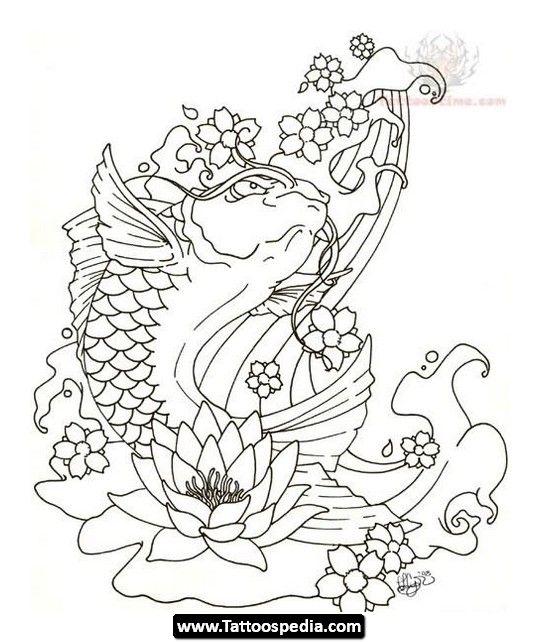 Coy Fish Tattoos For Men 31.jpg - http://tattoospedia.com/coy-fish-tattoos-for-men-31-jpg/
