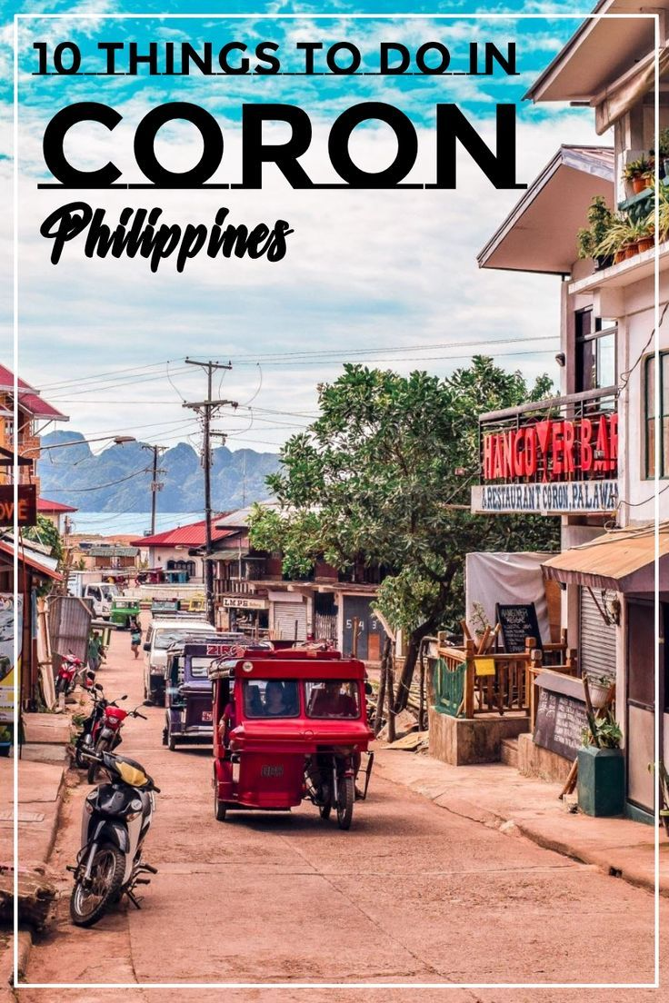 10 things to do in Coron, Philippines