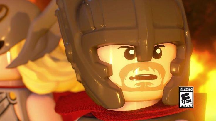 Thor Ragnarok trailer for LEGO Marvel Superheroes 2!