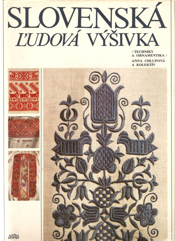 book: Slovenská ľudová výšivka