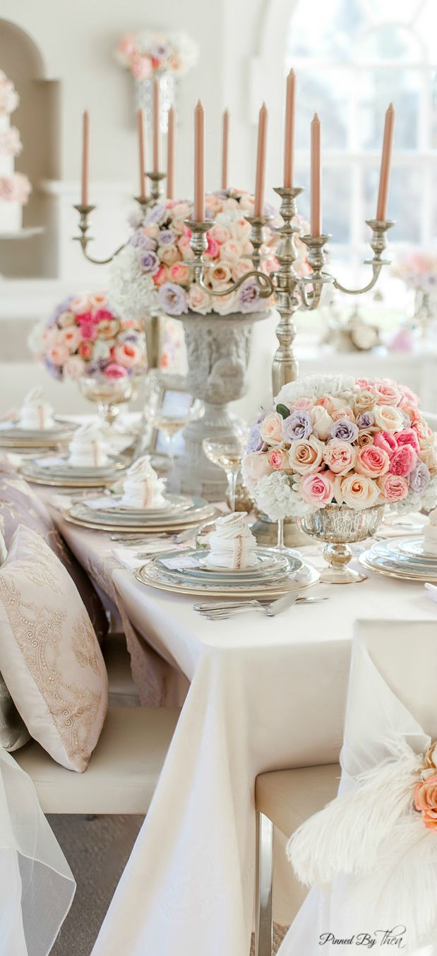 276 best Gorgeous Table Settings images on Pinterest | Wedding ...