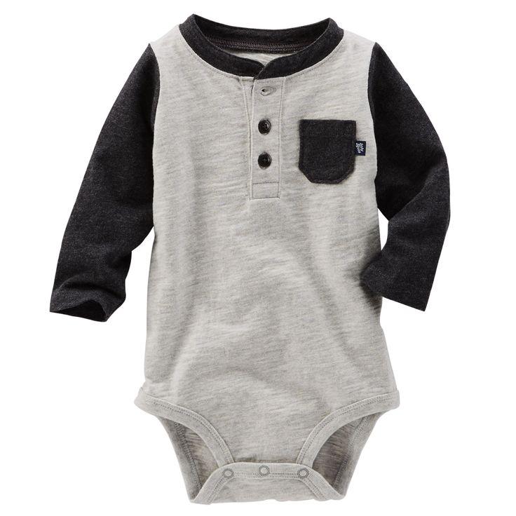 Baby Boy Colorblock Bodysuit   OshKosh.com