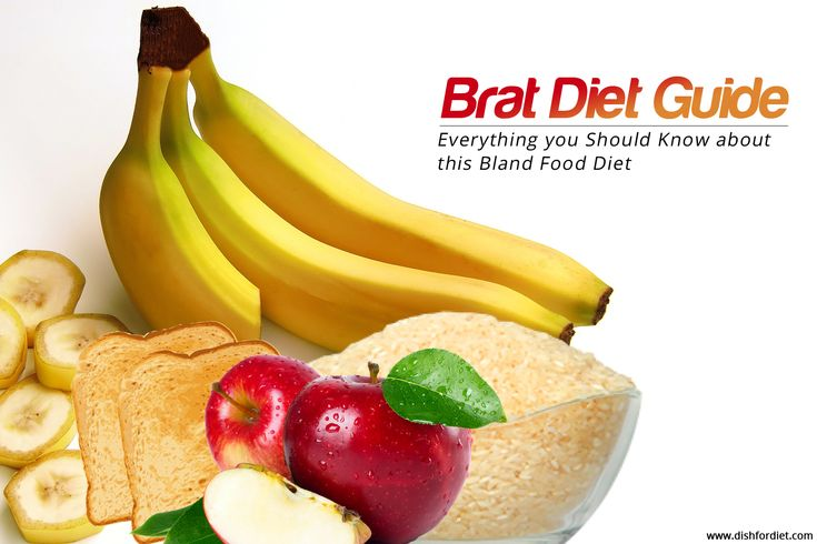 BRAT Diet Guide – Everything you Should Know about this Bland Food Diet.  #bratdiet #diet #health #care