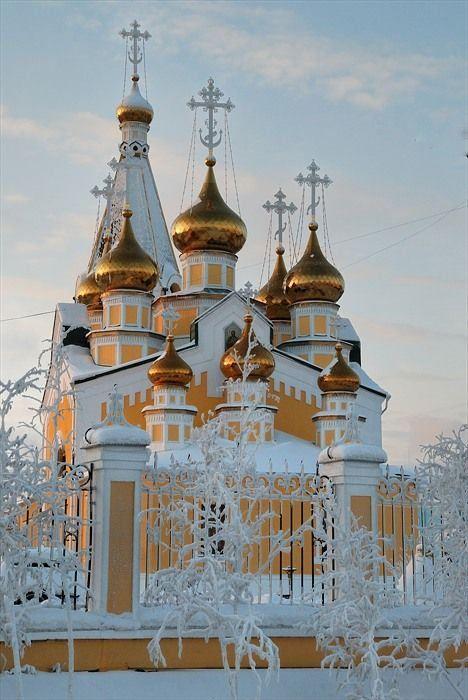 https://flic.kr/p/k1Fau5 | Preobrazhensky Cathedral in Yakutsk City, Russia.
