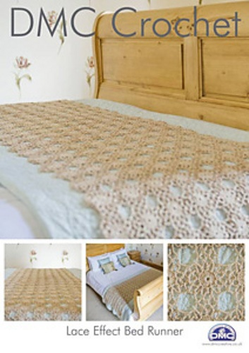 Ravelry: Lace Effect Bed Runner pattern by DMC Creative World UK