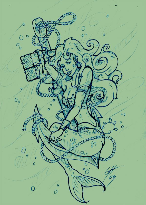 25 best ideas about mermaid anchor tattoo on pinterest mermaid tattoo designs anchor sketch. Black Bedroom Furniture Sets. Home Design Ideas