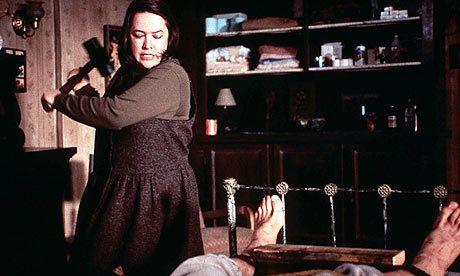Brutal escena de la película Misery de Rob Reiner basada en el texto de Stephen King. #stephenking #misery #robreiner