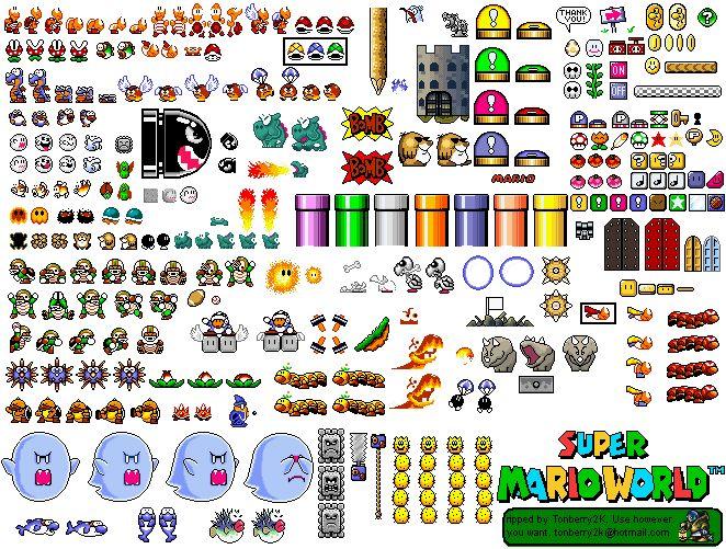 Super Mario World Sprites Friki World Pinterest More Best Sprites And Mario Ideas
