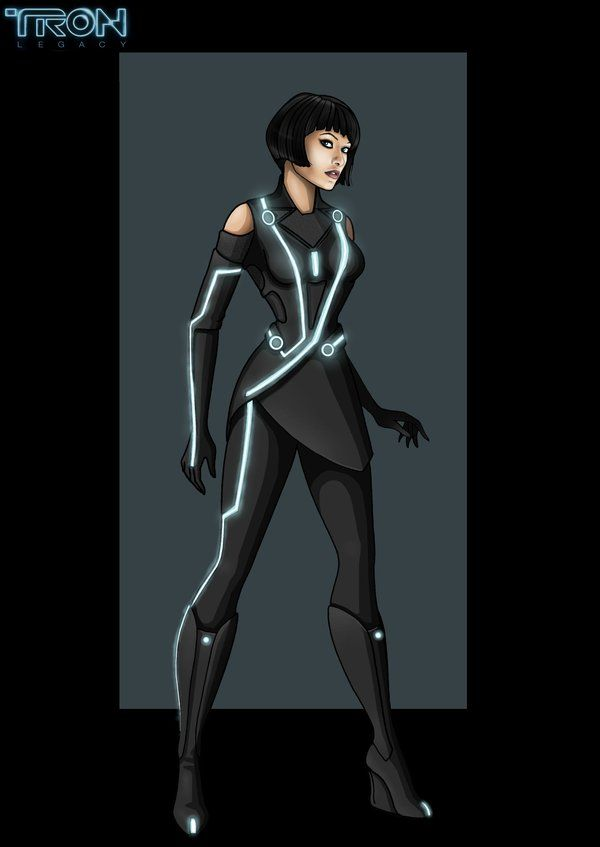 quorra - commission by nightwing1975 on deviantART