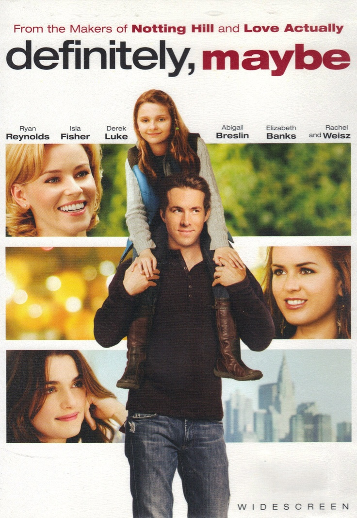 Ryan Reynolds has his hands full with his precocious and persistent young daughter who is anxious to learn more about her mother. Definitely, Maybe is definitely a must-see chick-flick!