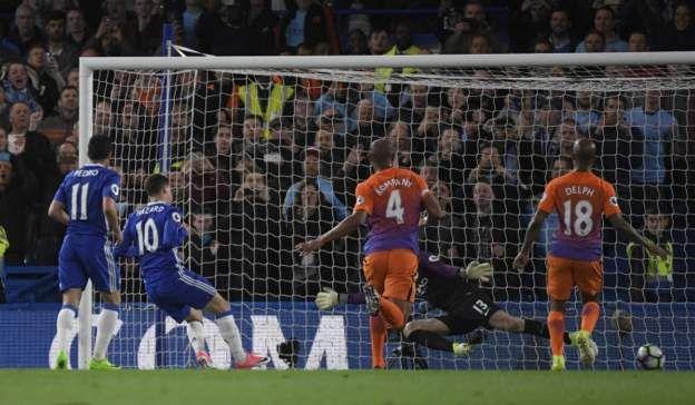 Risultato Finale Chelsea Manchester City 2-1: Cronaca e Video Gol Hazard, Agüero Premier League 31^ Giornata 05 Aprile 2017.