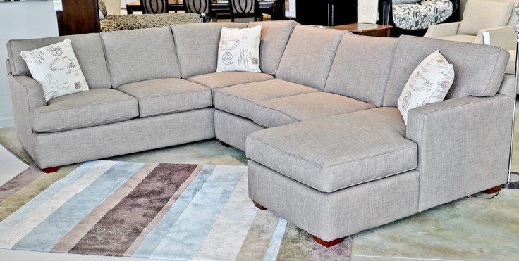 The Loomis Sectional: Living Room, Couch Named, Customizable Pieces, Loomis Sectional