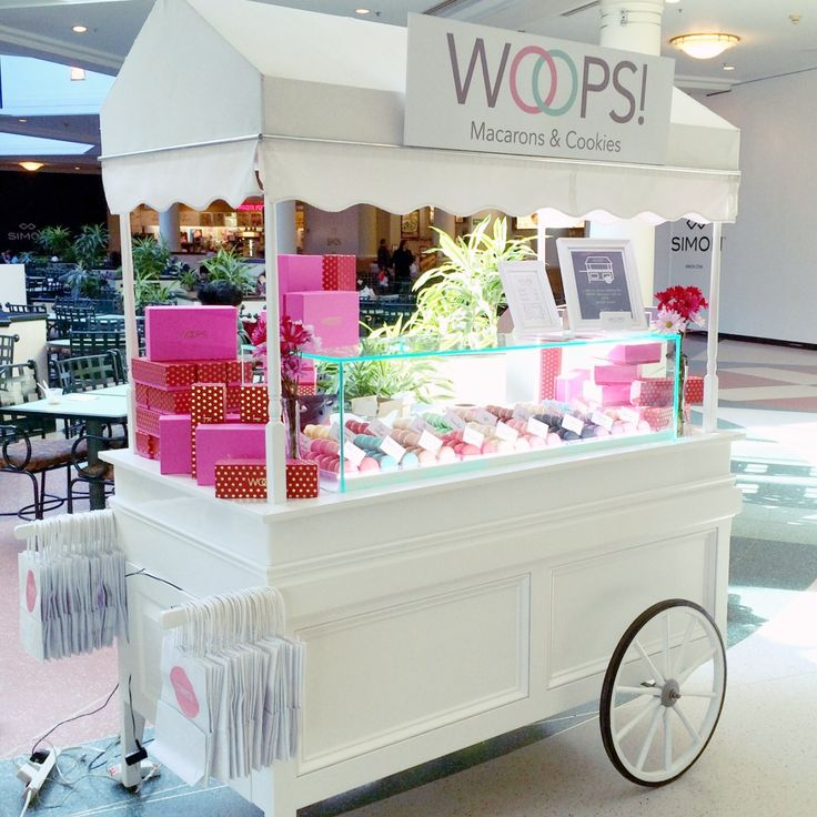 Macaron Cart for Special Events                                                                                                                                                                                 More