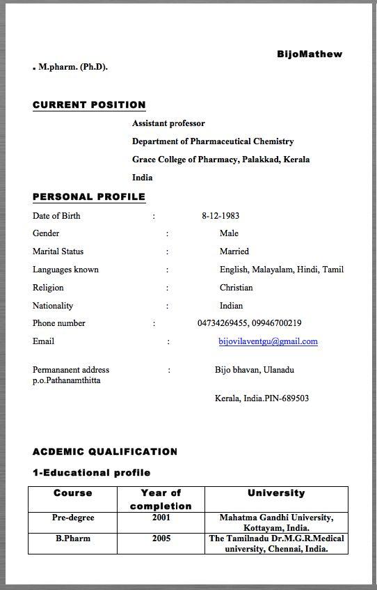 nursing professor resume examples