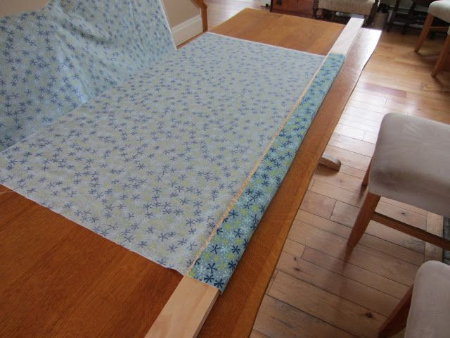 Color Me Quilty: Board Basting? This is a really ingenious method should I ever want to quilt a quilt myself again!
