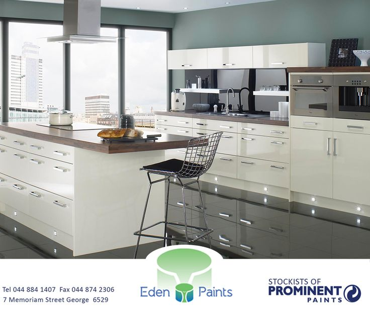 Are you unsure what colour to paint your kitchen? Then try either Wickham Gray, Palladian Blue or Amazing Gray. Get down to #EdenPaints and get the perfect colour paint for every room of your home. #ProminentPaints #paint #colour