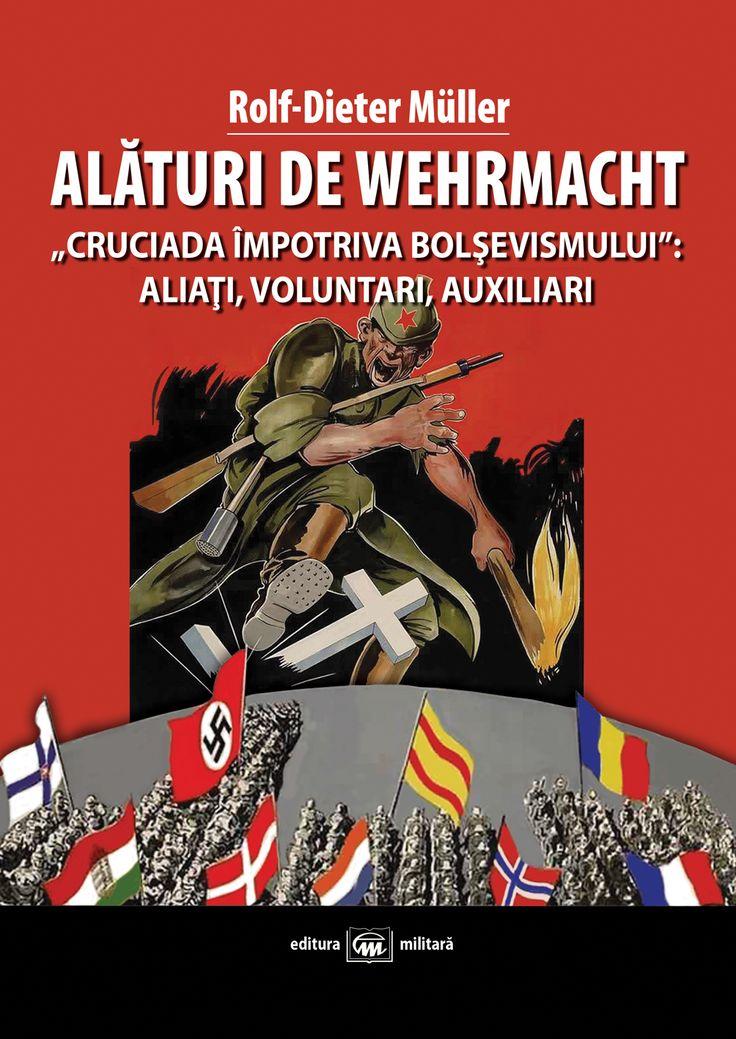 """La începutul războiului împotriva Uniunii Sovietice, alături de Wehrmacht s-au angajat în luptă aproximativ 600 000 de militari din trupele aliate; mai târziu, acestora li s-au adăugat numeroşi voluntari străini şi """"auxiliari"""". În punctul culminant al celui de-al Doilea Război Mondial pe frontul de est, fiecare al treilea soldat care lupta de partea Germaniei era străin. (Format 17x24 cm, 264 p + 16 p foto alb/negru, 24 lei)"""