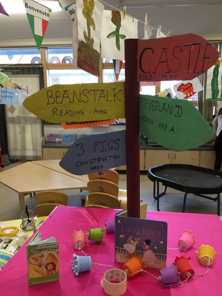 Eyfs fairytale classroom display