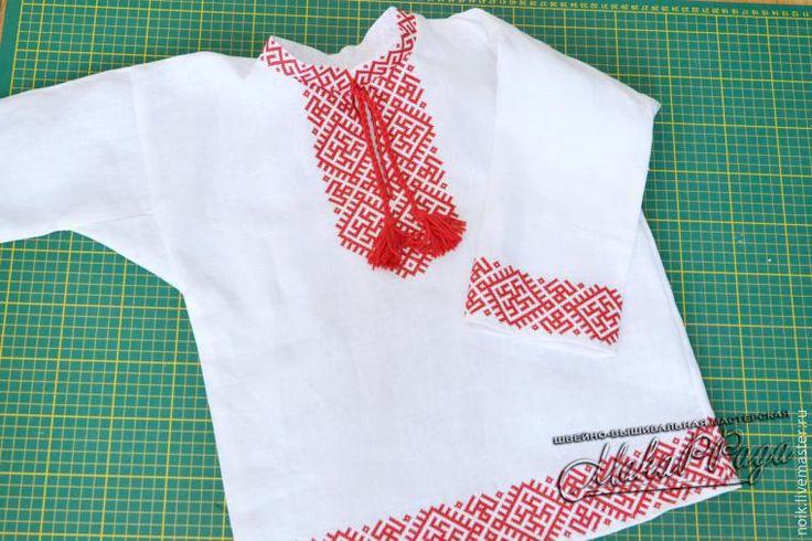 Шьем русскую народную рубаху - ЯМ