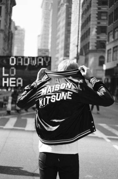 Style On the Block.. So Lucky to work down the street. Maison Kitsune Spring/Summer 2014 Is For DJs Who Are Big Overseas - Four Pins
