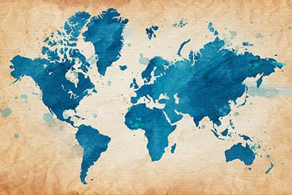 Mejores 85 imgenes de maps wallpaper en pinterest decoracin de grunge blue map gumiabroncs Gallery