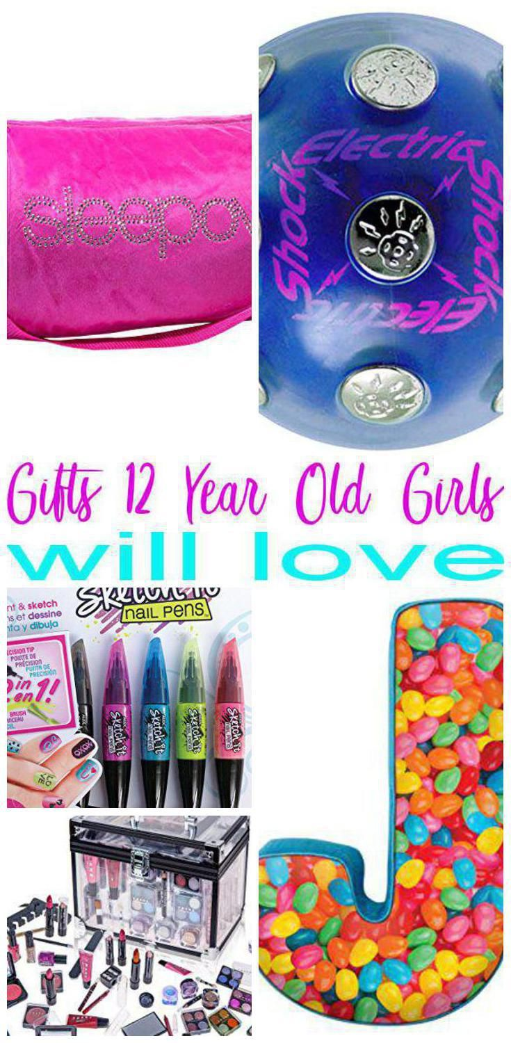 a024b6d17 ... 12 year old girls! Gift ideas for twelfth birthdays, Christmas or just  because. Cool products like: makeup, room décor, bath & body, clothes, craft  kits ...