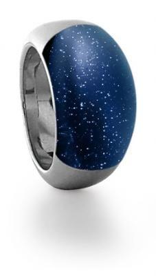 Anillo Makasi Plata y Aventurina azul/ Blue Aventurina silver ring