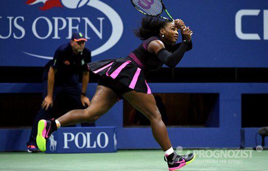 Серена Уильямс выбывает с US Open и покидает первую строчку рейтинга WTA https://prognozist.ru/news/headline/1033546-us-open.html  Американка Серена Уильямс не сумела пробиться в финал Открытого чемпионата США по теннису, проходящего в эти дни в Нью-Йорке.
