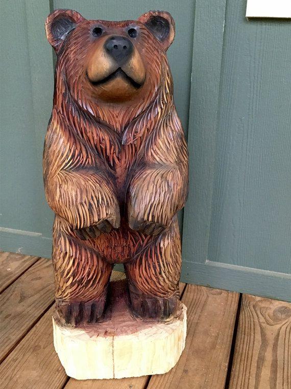 слайд презентации, фигуры медведя из дерева своими руками фото маги это специально