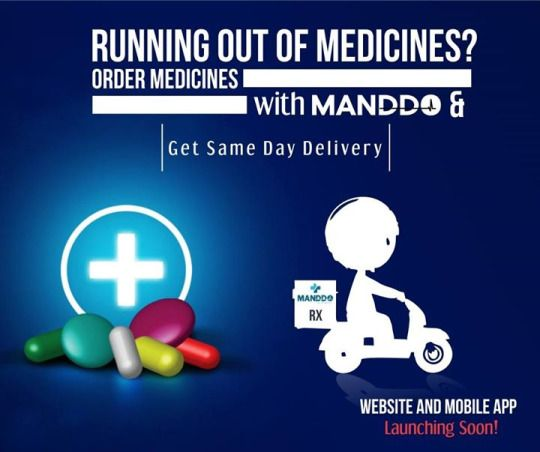 Get Same Day Delivery! Getting someone to buy your medicines at the chemist shop is so mainstream! Order your medicines at Manddo & Get same day delivery!