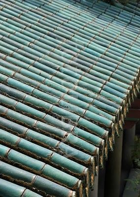 Roof Tiles...looks Like A Bamboo Roof? | Interesting Roofs | Pinterest |  Roof Tiles, Bamboo Roof And China