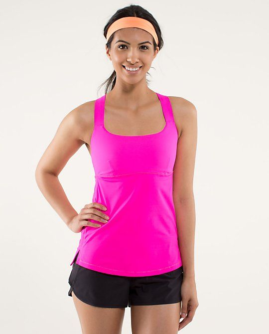 Track And Train Tank..no bra needed and actually supported ...