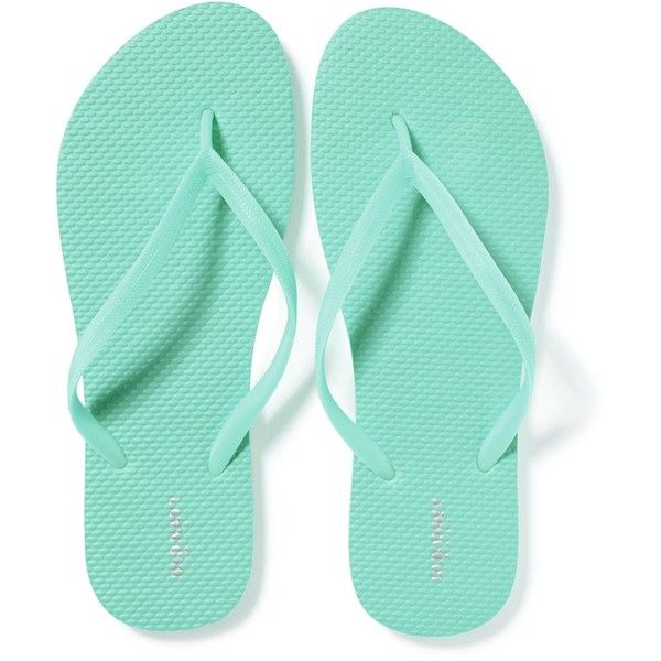 Classic Flip-Flops for Women ($2.50) ❤ liked on Polyvore featuring shoes, sandals, flip flops, old navy sandals, old navy shoes, old navy and old navy flip flops