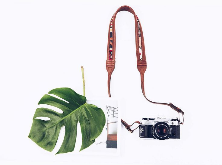 THE ARTEMIS | Bohemain Leather Camera Strap, Sumak Textile Camera Strap, by ShopJolieLaide on Etsy