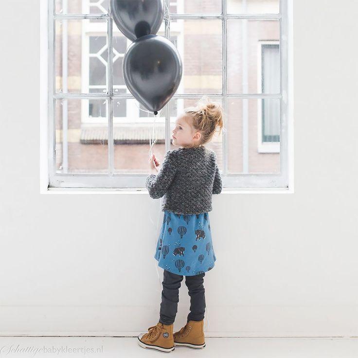 nOeser Elise elasticated dress airballoon | nOeser babykleding