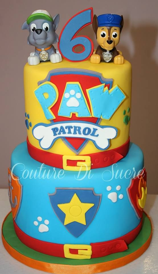 39 Best Images About Paw Patrol Cake On Pinterest
