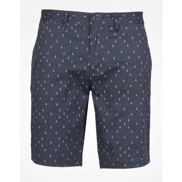 PRINTED CHINO SHORTS ❤ liked on Polyvore featuring shorts, short chino shorts, armani exchange, chino shorts, short shorts and armani exchange shorts