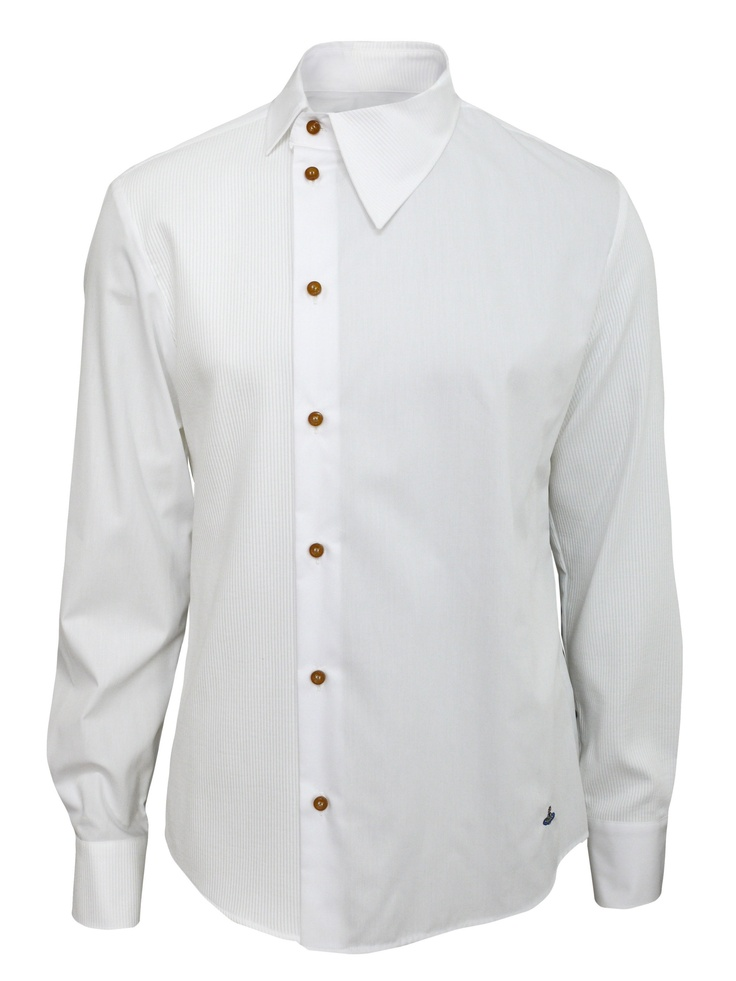 Coggles Vivienne Westwood - Man Vivienne Westwood - Man   DL082-35722 White Shirt
