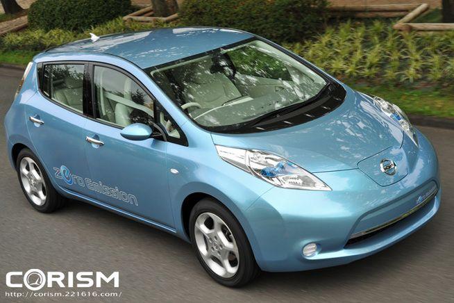 【速報!「日産 リーフ」新型 電気自動車(EV) 新車情報】コレが2010年に市販される日産の電気自動車「Leaf(リーフ)」だ![CORISM] [CORISM]