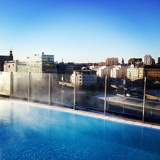 Pool - Clarion Hotel Sign Stockholm - Instagram photo by @Susanna Hermansso (jarlsdotter) |