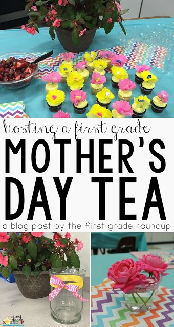 Mother's Day Tea | One of my favorite traditions for celebrating mother's day in our first grade classroom!